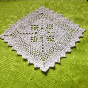 Victorian Lattice Square Scrappy Blanket Love